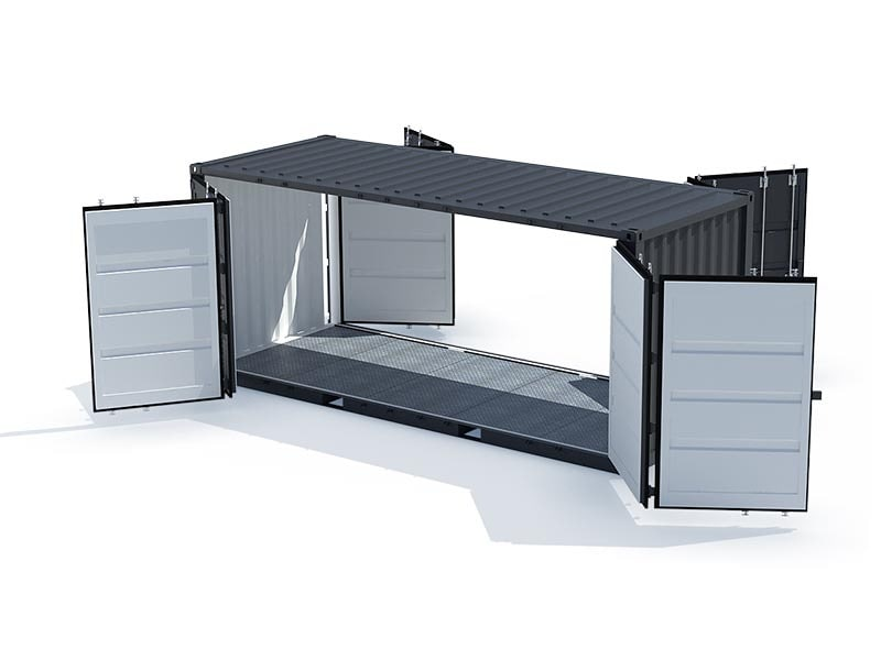 aménagement containers