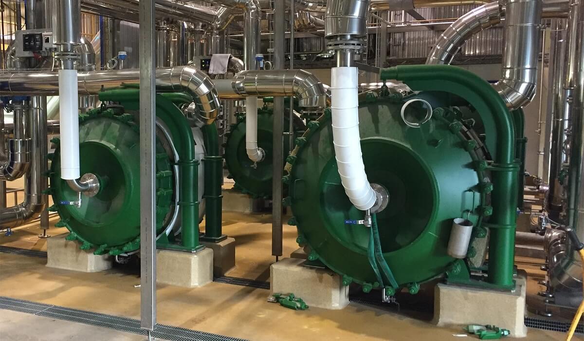 échangeur agro industrie liquide/liquide