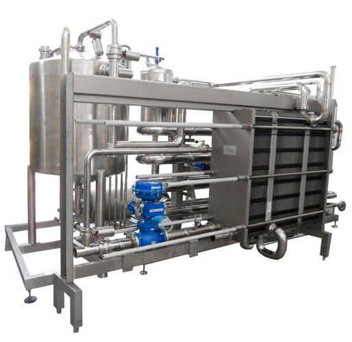 Echangeur agro industrie liquide/liquide