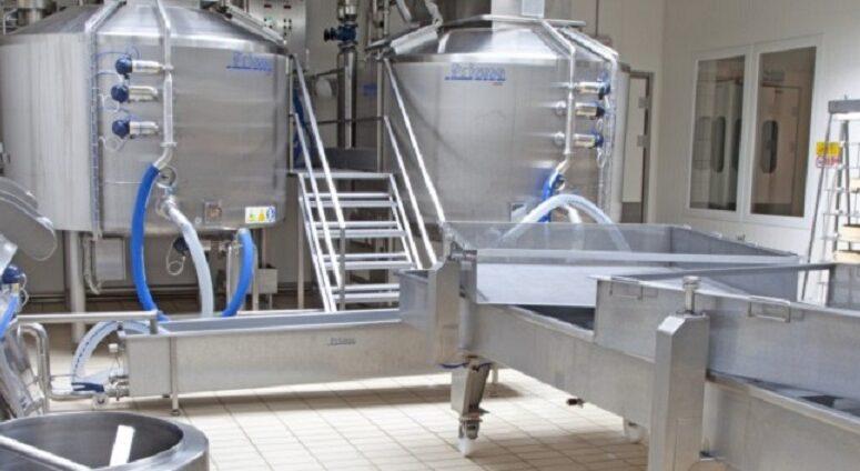 échangeur agro industrie pour laiterie