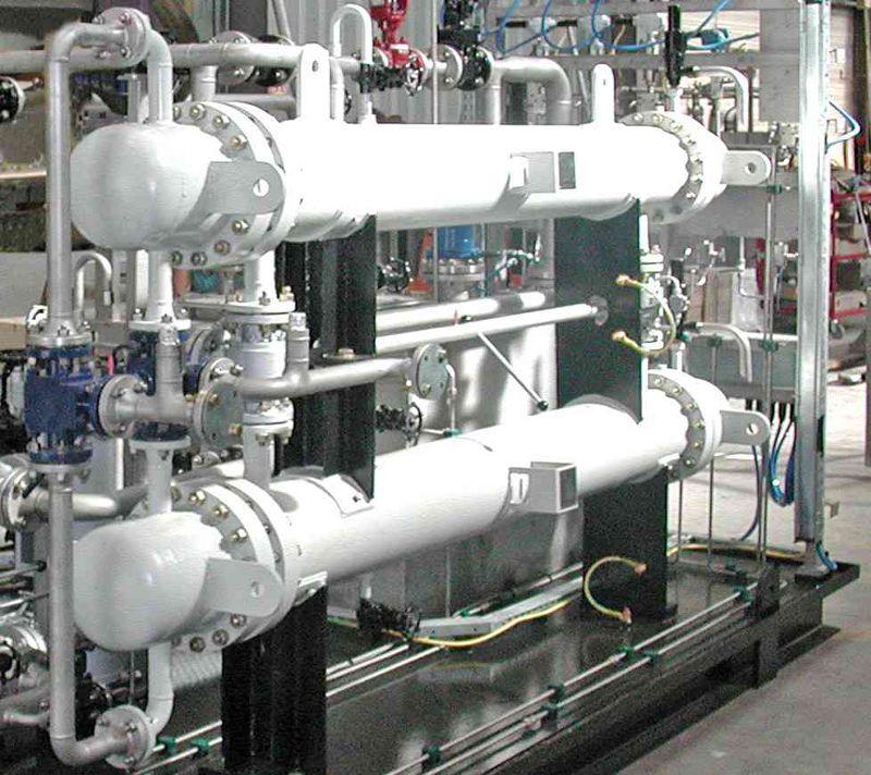 echangeur oil et gaz